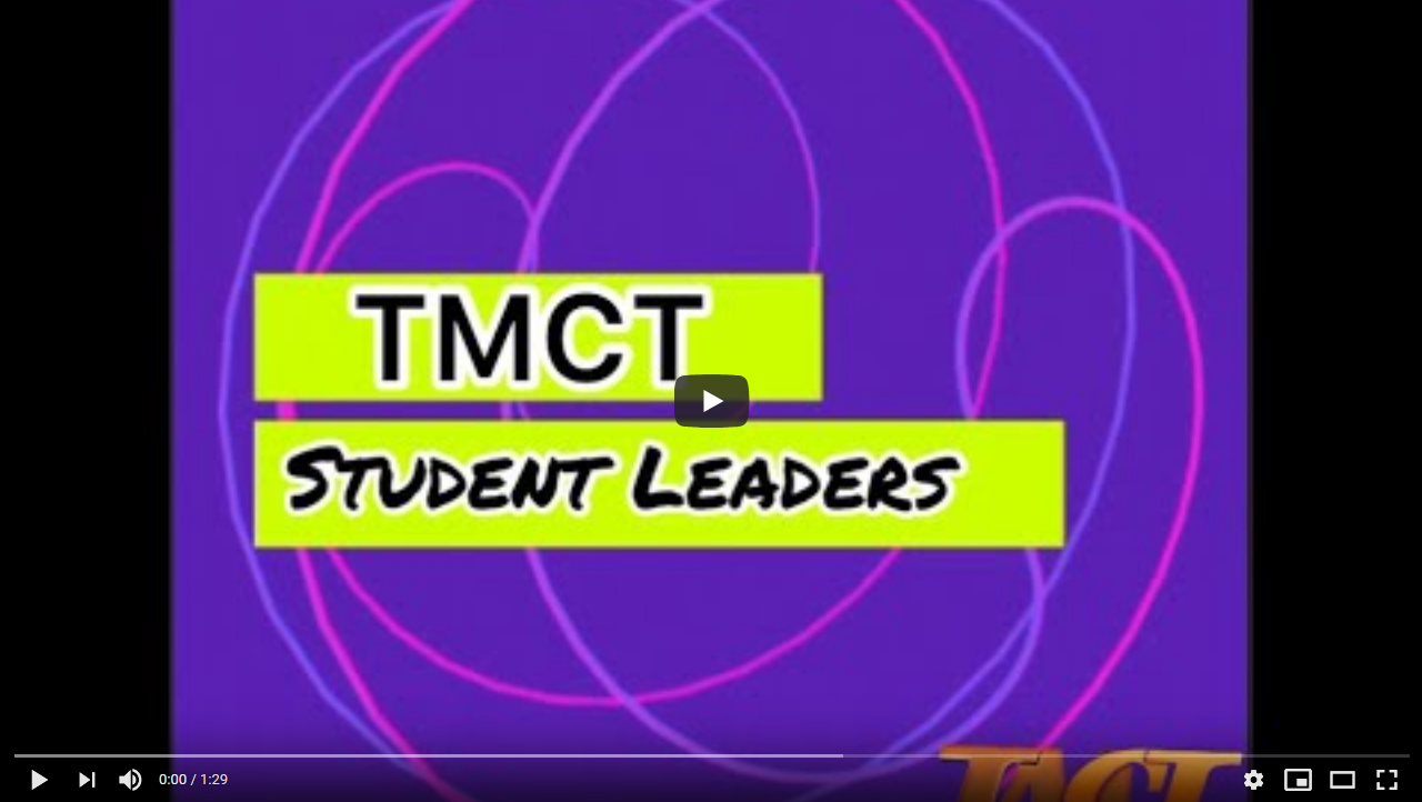 TMCT Student Leaders
